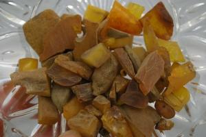 Amber healing properties...