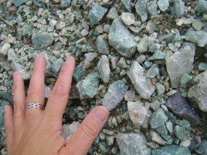 Rock Hunting Ontario for Apple Jade