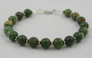 African Jade Bracelet by Wicked Stones