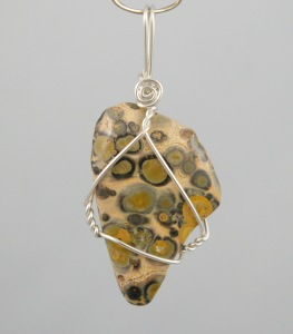 Leopard Jasper healing gemstone by wicked stones