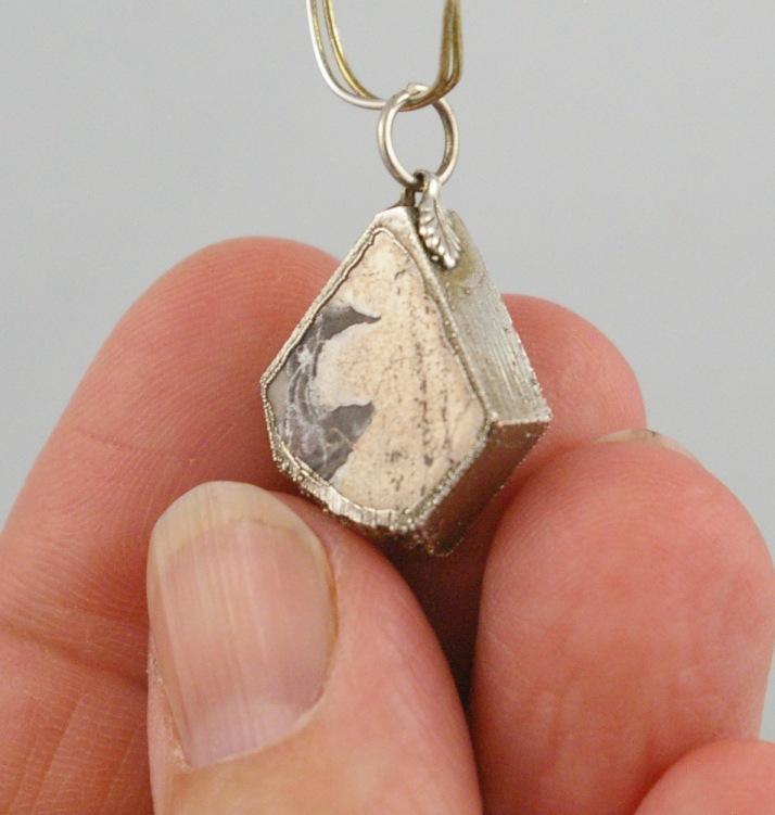 Cobalt Ontario Silver pendant
